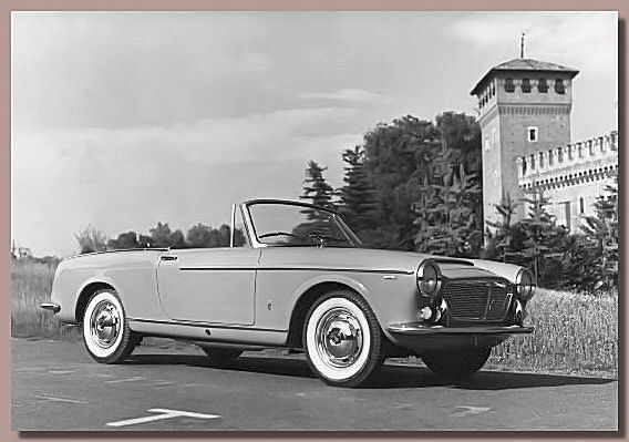 The Fiat 1200 Cabriolet
