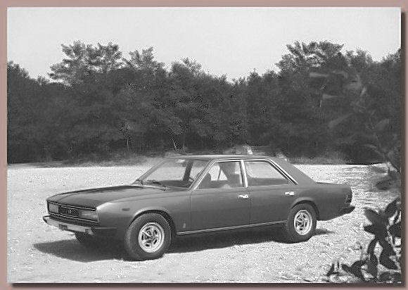 The 1974 Fiat 130 Opera research prototype