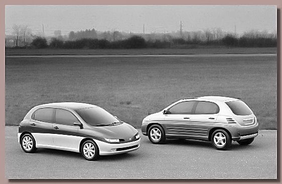 The 1996 Fiat Sing and Fiat Song styling models