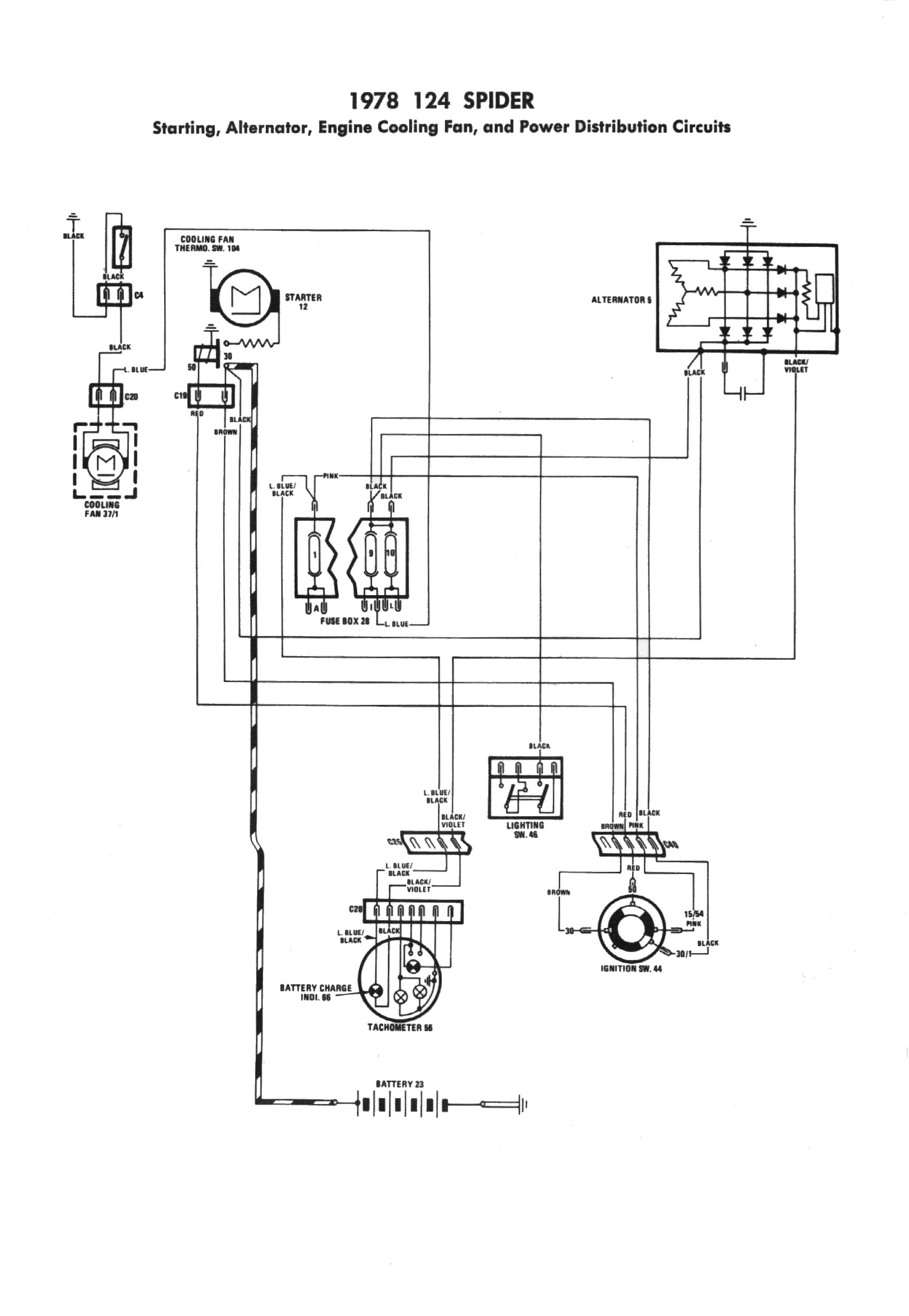 Romeo Spider Wiring Diagram On Honda Ignition Switch Basic Guide Alfa Start 83 Fuse Box Get Free Image About Go Devil Exmark