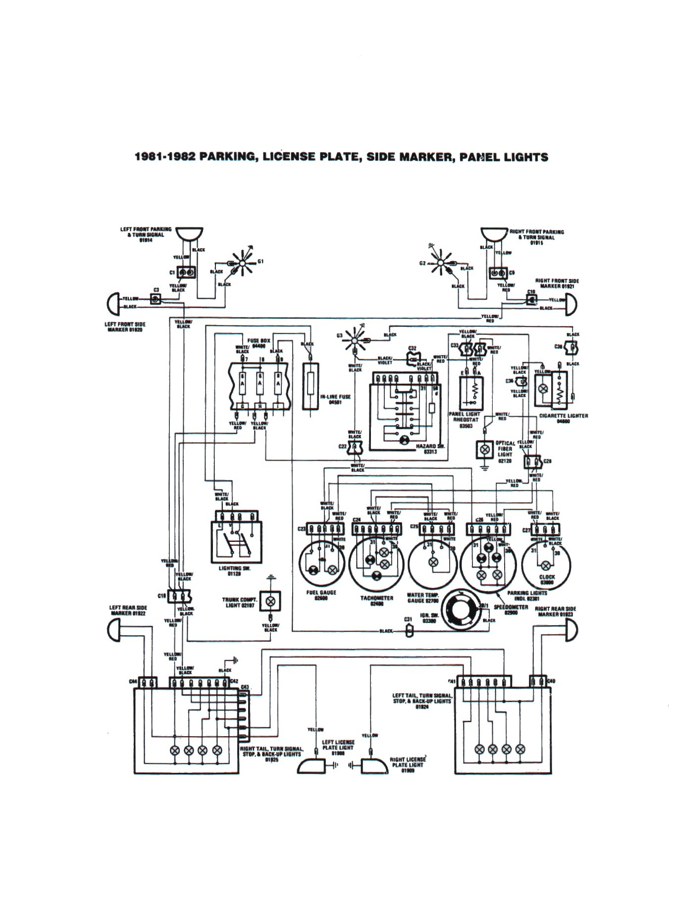 fiat 124 spider electrical schemes 1976 Chevy Truck Wiring Diagram original scheme